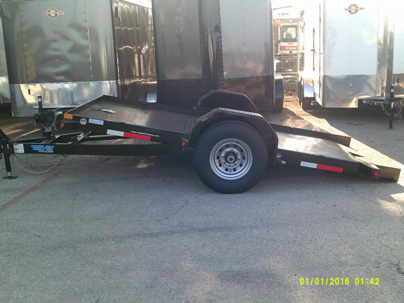 2018 Top Hat Trailers 6.5X12 TILT Equipment Trailer in Ashburn, VA