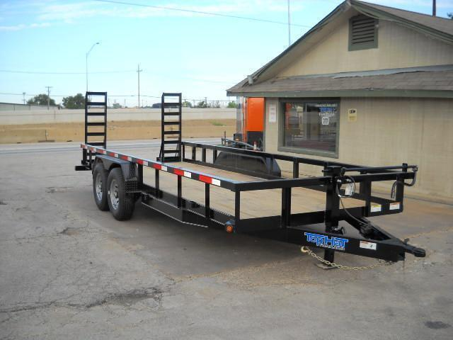 2019 7X18 Top Hat Trailer HEAVY DUTY (14000 GVWR)  Equipment Trailer in Ashburn, VA