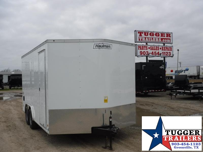 2019 Haulmark Trailers 8.5x16 Enclosed Cargo Trailer