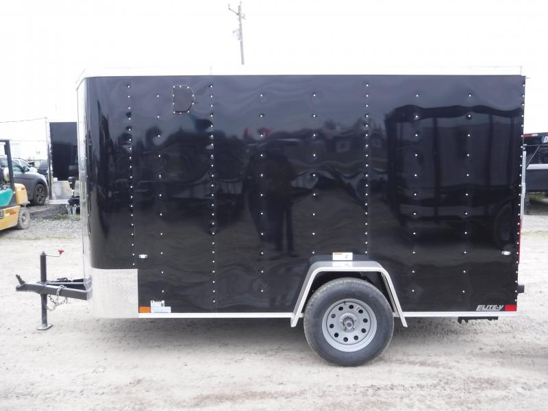2019 Cargo Craft 6x10 10ft Elite Plus 2ft V-Nose Enclosed Cargo Trailer