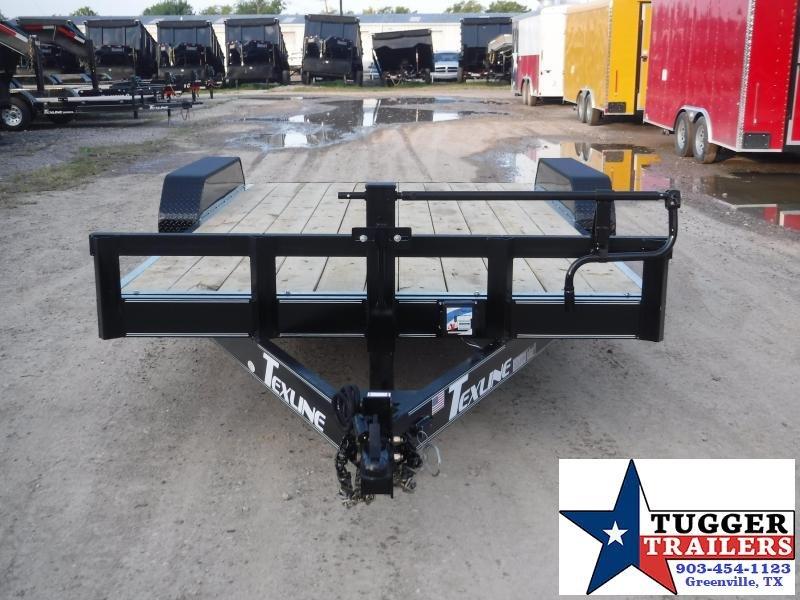 2019 TexLine 83x16 16ft Bobcat Utility Flatbed Trailer