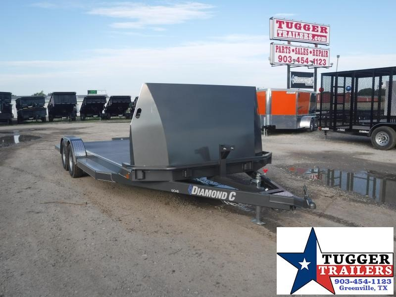 "2018 Diamond C Trailers 83"" x 20' 12CHS Car / Racing Trailer"