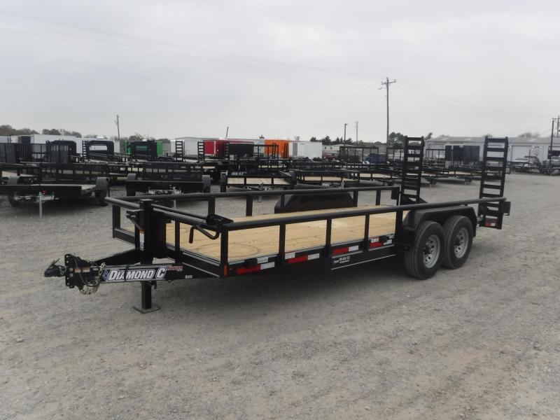 2018 Diamond C Trailers 82 x 20 TA RHD Equipment Trailer