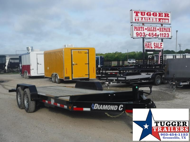 2019 Diamond C Trailers 82x20 20ft HDT207 Titl Flatbed Trailer