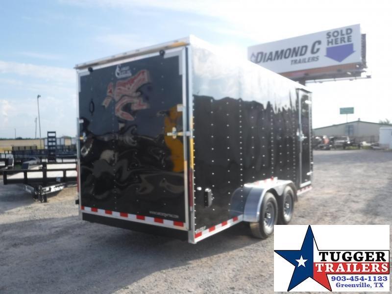 2019 Cargo Craft 7x16 16ft Ramp Enclosed Cargo Trailer