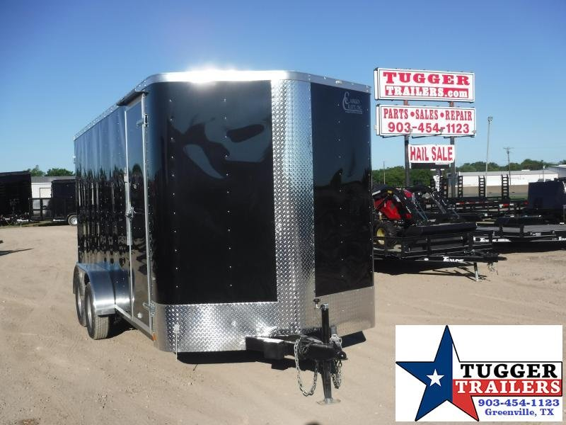 2019 Cargo Craft 7x16 16ft Double Door Enclosed Cargo Trailer