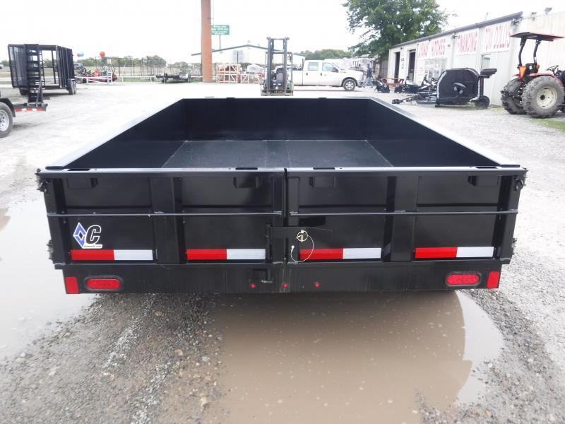 2019 Diamond C Trailer 77 x 10 41ED Equipment Dump Trailers