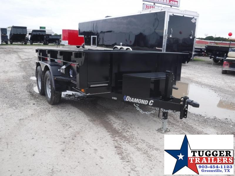 2019 Diamond C Trailer 77 x 10 41ED Equipment Dump Trailers
