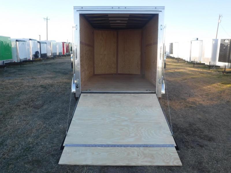 2018 Cargo Mate 7 x 12 E- Series Enclosed Cargo Trailer
