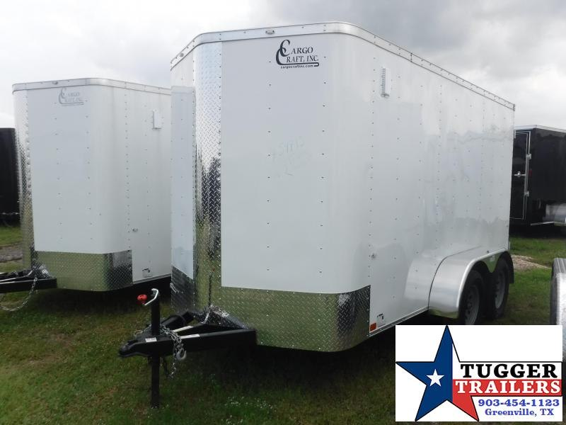 2019 Cargo Craft 6x12 12ft Double Door Enclosed Cargo Trailer