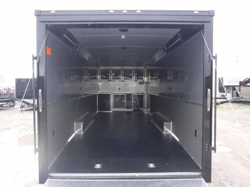 2018 Cargo Mate Trailers 8.5 X 28 Enclosed Cargo Trailer