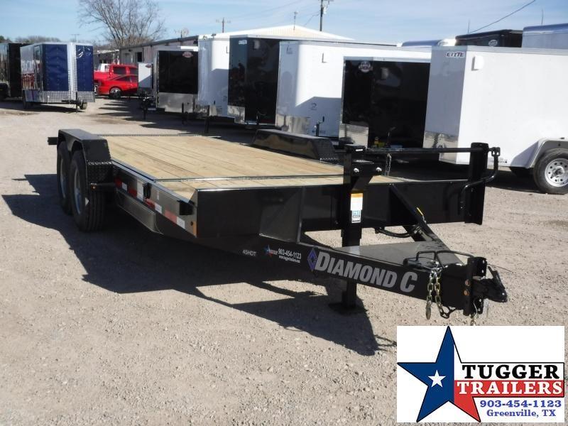 2019 Diamond C Trailer 82x20 45HDT Tilt Equipment Trailers