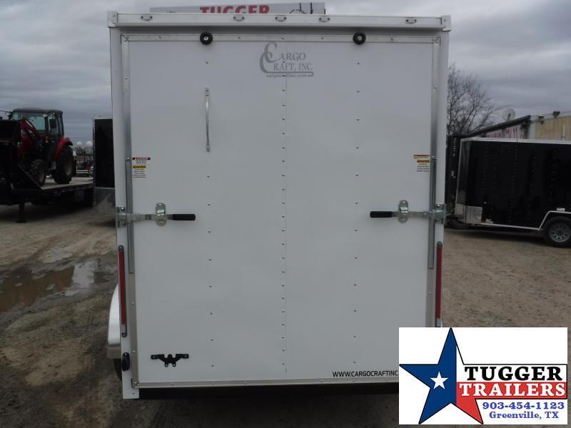 2019 Cargo Craft 6x12 12ft Enclosed Cargo Trailer