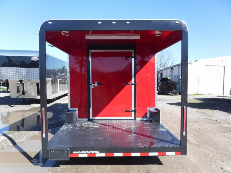 2019 Cargo Craft Expedition-85242 Vending / Concession Trailer with Porch