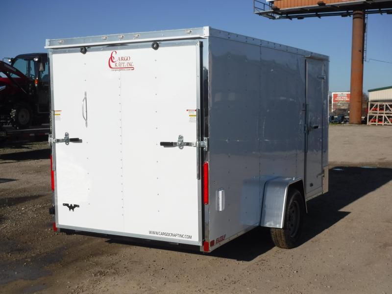 2019 Cargo Craft 6x12 12ft Elite Plus 2 V-Nose Enclosed Cargo Trailer