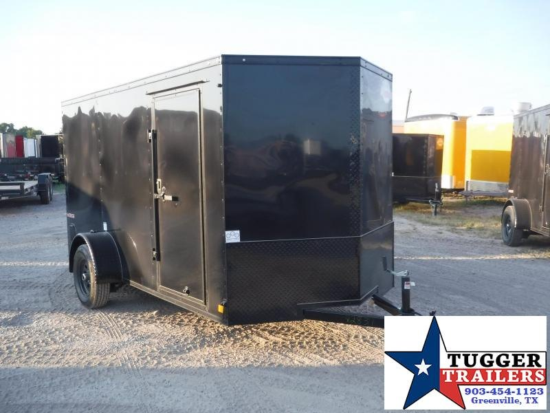 2020 Cargo Mate 6x12 12ft E-V Blackout Enclosed Cargo Trailer