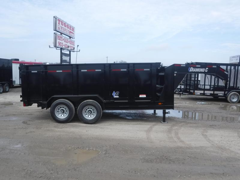 2019 Diamond C Trailers 82x14 14ft 21WD Dump Trailer