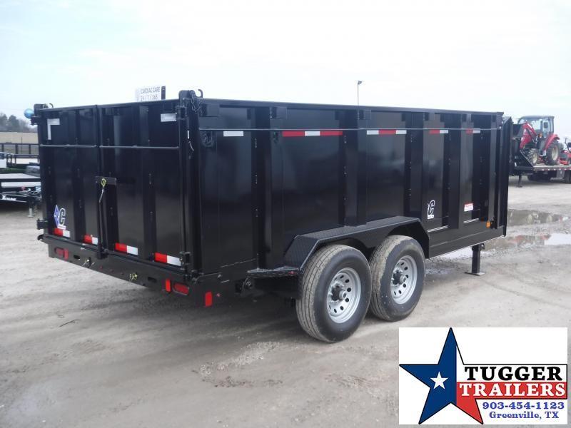 2019 Diamond C Trailers 82x14 14ft 21WD Dump Trailer