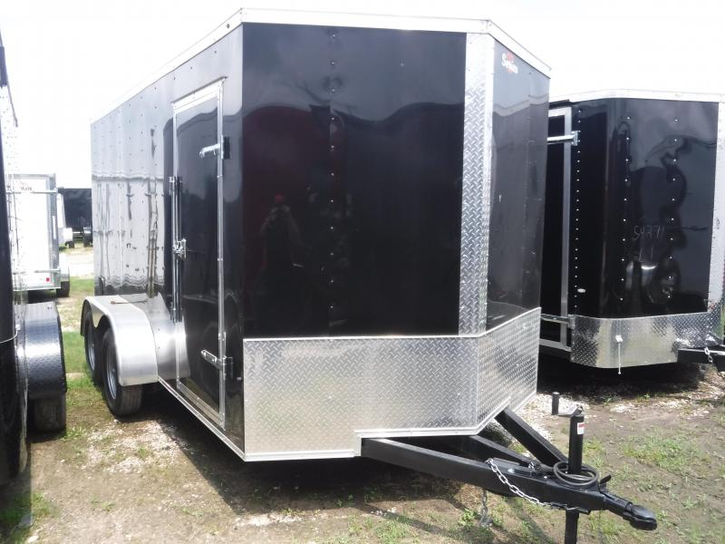 2019 Salvation Trailers 7X16 16FT Ramp Enclosed Cargo Trailer