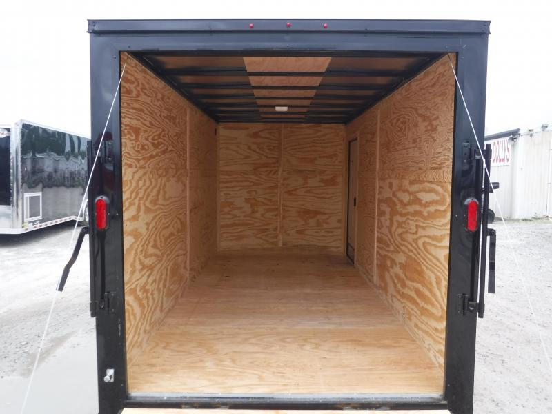 2019 T-Series 7 x 16 Cargo Trailer Enclosed Cargo Trailers