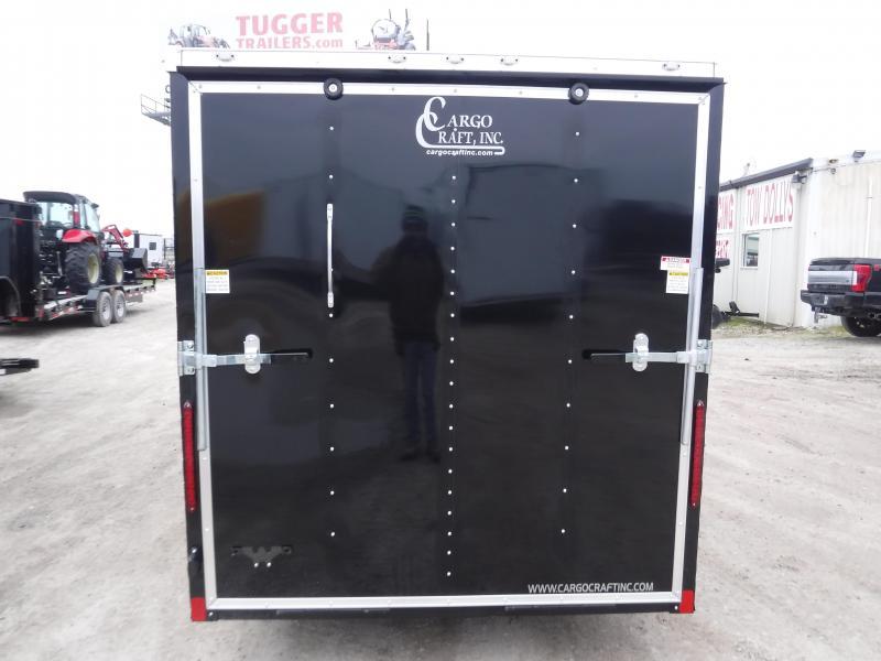 2019 Cargo Craft 6x12 12ft Black 2019 Elite V-Nose Enclosed Cargo Trailer