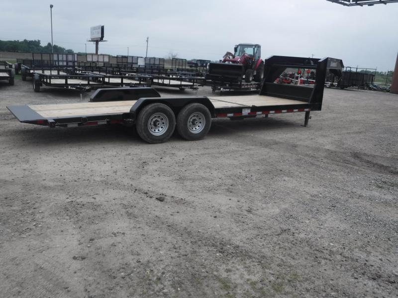 2019 Diamond C Trailers 82x24 24ft Gooseneck Utility Equipment Flatbed Trailer