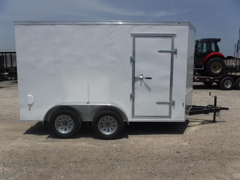 2019 T-Series Trailers 7 x 12 Elite Enclosed Cargo Trailer
