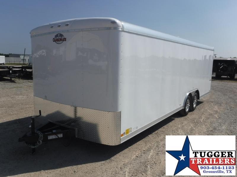 2019 Cargo Mate 8.5x24 Qualifier Enclosed Cargo Trailer