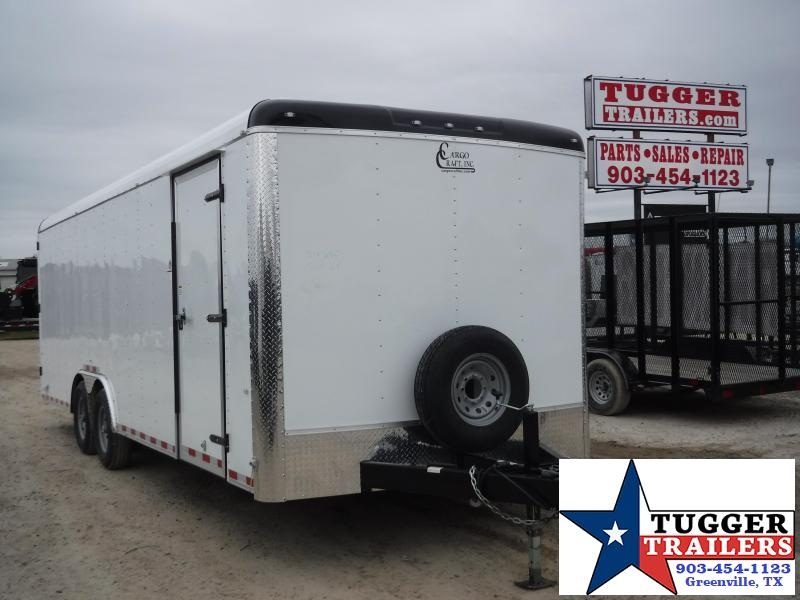 2019 Cargo Craft 8.5x24 24ft Expedition Double Door Enclosed Cargo Trailer