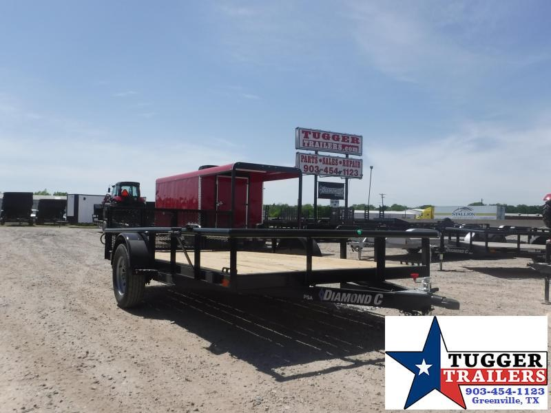 2019 Diamond C Trailers 77x12 12ft PSA135 2019 Utility Trailer