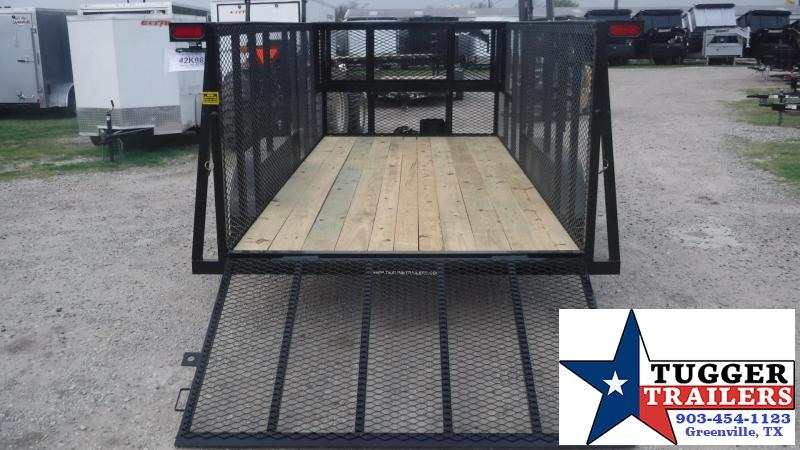 2018 TexLine 77x16 TA Texline Landscape Equipment Trailer