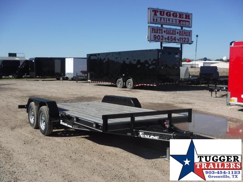 2018 Texline 83 x 16 DCH Car / Racing Trailer