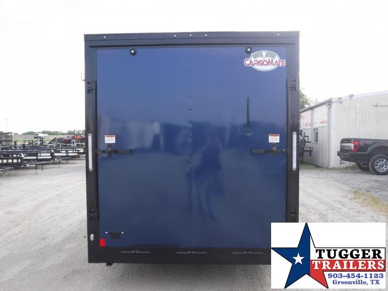 2020 Cargo Mate 7x16 16ft E-Series Blackout Enclosed Cargo Trailer