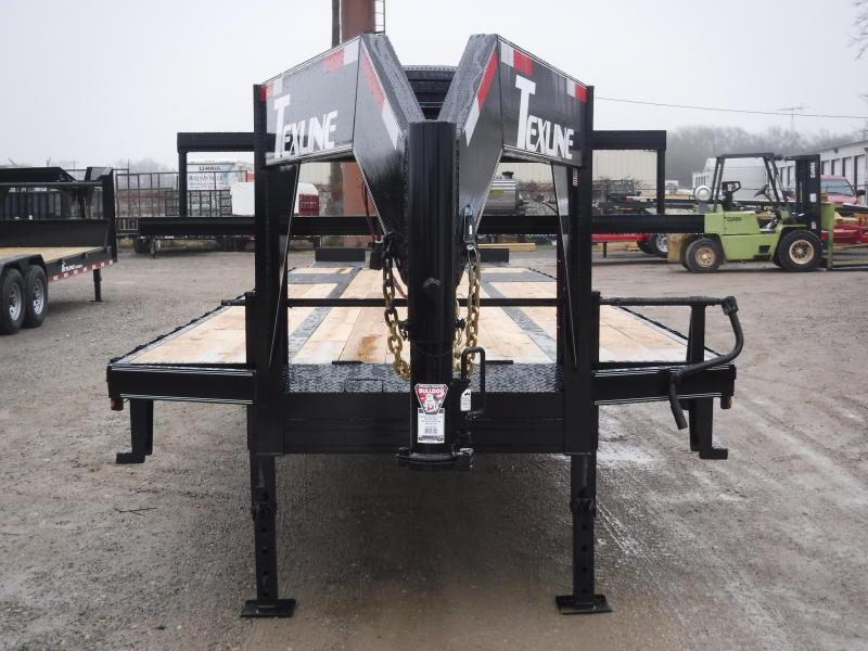2018 TexLine 102 x 40 Stealth Gooseneck Equipment Trailer