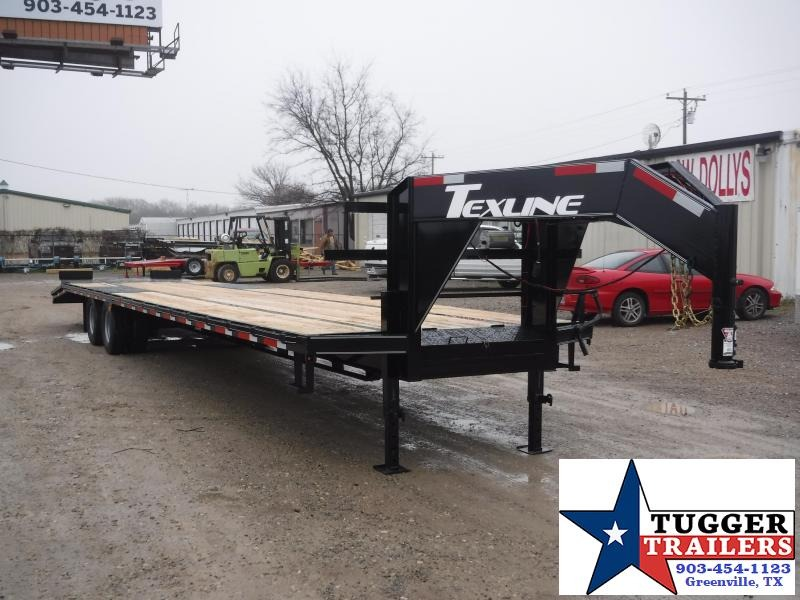 2018 TexLine 102 x 40 Stealth Gooseneck Equipment Trailer