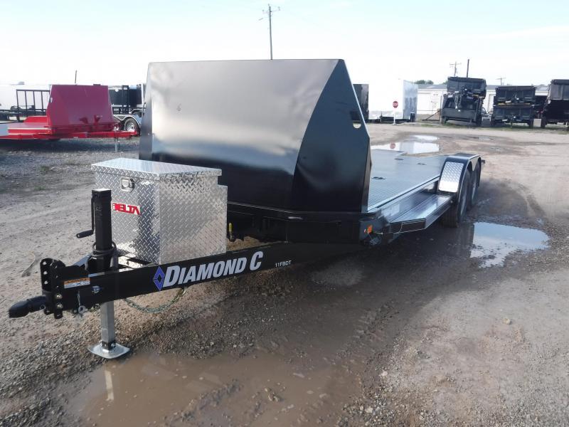 2018 Diamond C Trailers 11FBDT Car / Racing Trailer