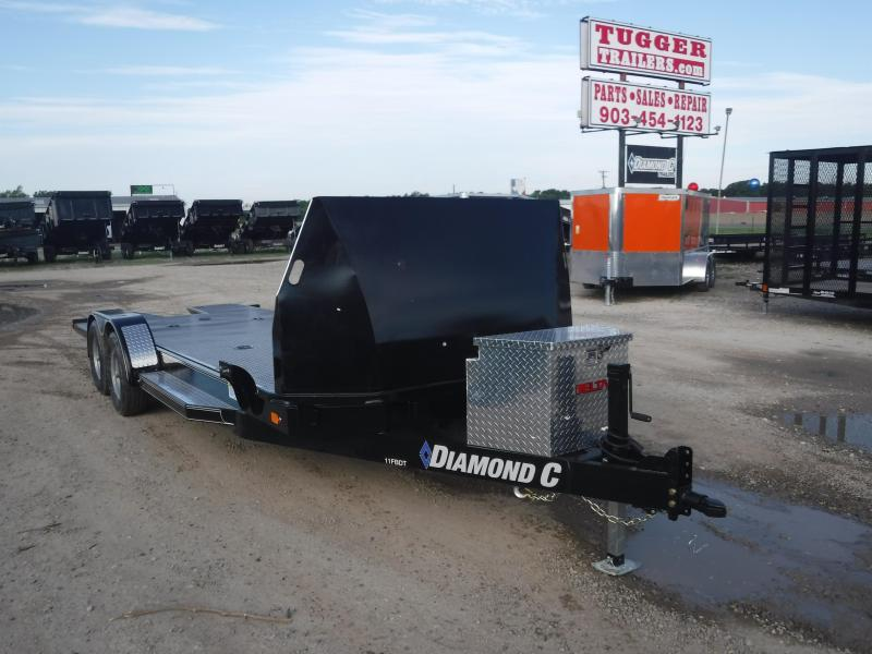 2018 Diamond C Trailers 11FBDT Car / Racing Trailer