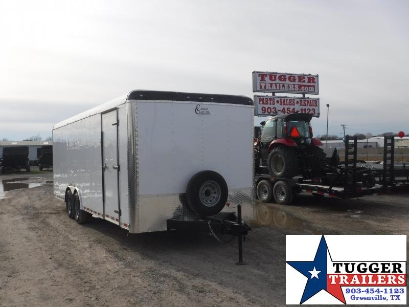 2019 Cargo Craft Trailers 8.5 x 24 Expedition Enclosed Cargo Trailer