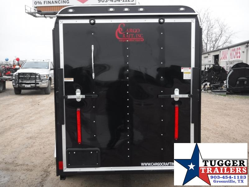 2019 Cargo Craft 5x10 10ft Elite Plus 2 V-Nose Enclosed Cargo Trailer