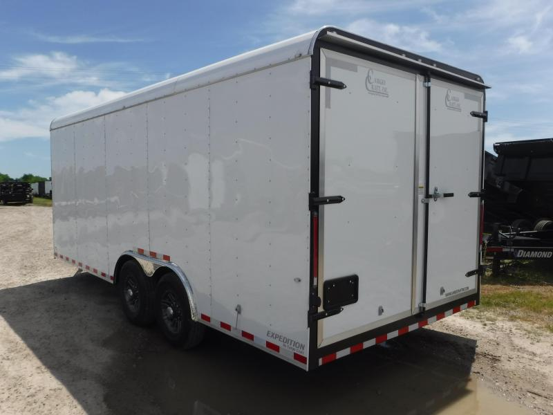 2019 Cargo Craft 8.5x20 20ft Expedition Double Door Enclosed Cargo Trailer