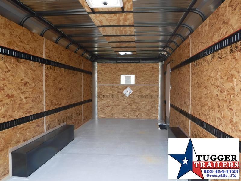 2019 Cargo Craft 8.5x20 20ft Expedition Double Door Enclosed Cargo Trailer