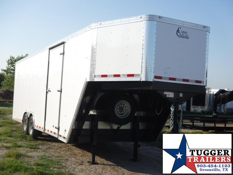 2019 Cargo Craft 8.5x32 32ft Gooseneck Enclosed Cargo Trailer