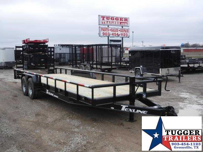 2019 TexLine 83x24 24ft Bobcat Utility Trailer
