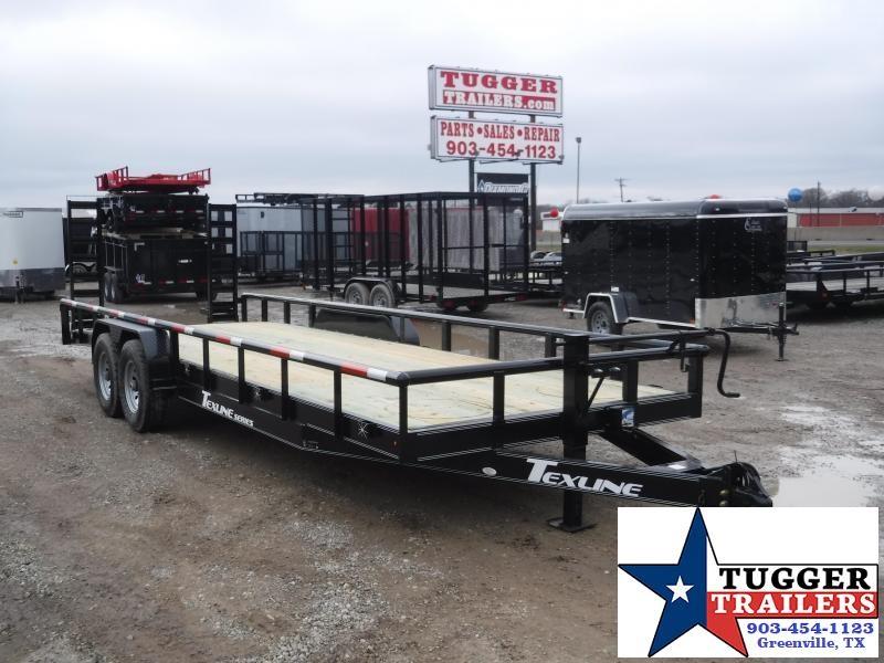 2019 TexLine 83x24 24ft Bobcat Utility Trailer