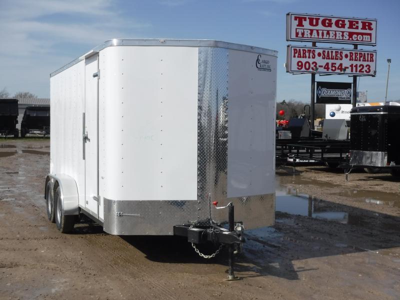 2019 Cargo Craft 7X14 14ft 2019 Ramp Enclosed Cargo Trailer