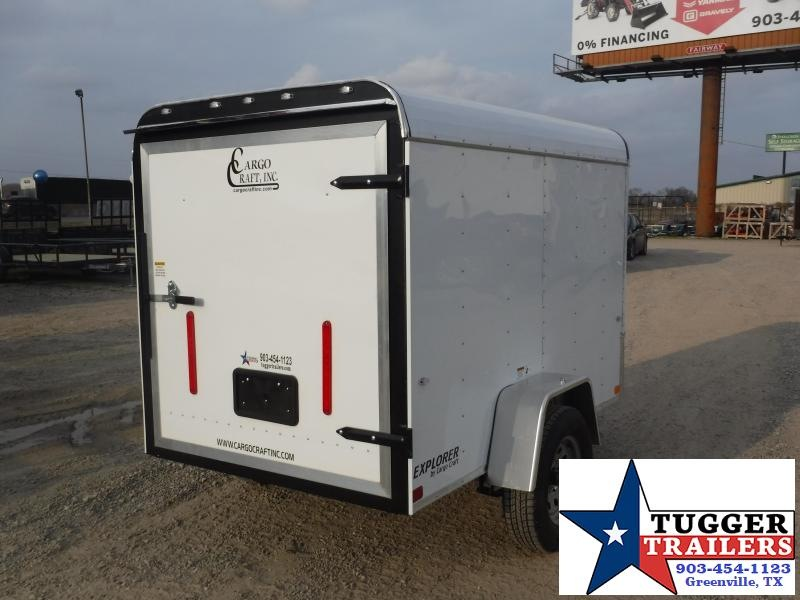 2019 Cargo Craft 5x8 8ft Explorer White 2019 Enclosed Cargo Trailer