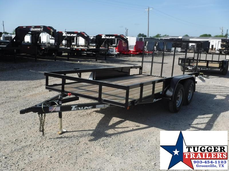 2018 Texline Trailers 77 x 14 Patriot TA Equipment Trailer