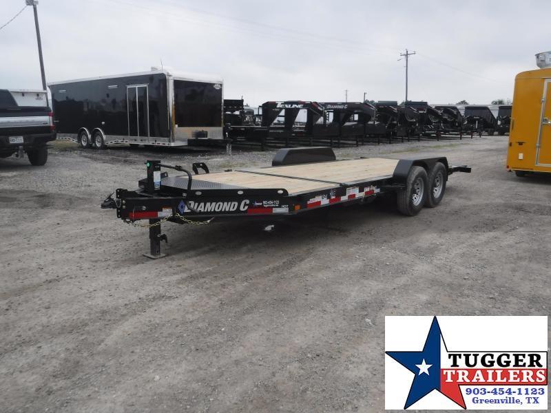 2019 Diamond C Trailers 82x20 20ft HDT Tilt Utility Equipment Flatbed Trailer