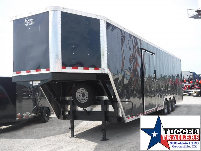 2018 Cargo Craft 8.5x40 40ft Black Ramp Enclosed Cargo Trailer