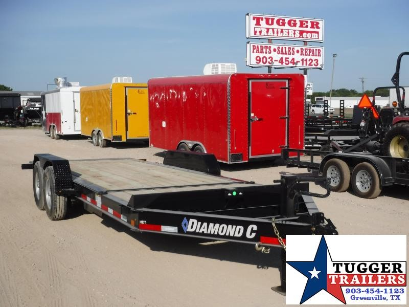 2019 Diamond C Trailers 82X20 20ft HDT Tilt Utility Flatbed Trailer